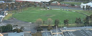 Arden Street Oval has been traditionally associated with the Kangaroos and has been home to the club since 1882 (except for a brief period from 1965-1966 when the club relocated to the Coburg City Oval before moving back to Arden Street). In 1984 the club chose the Melbourne Cricket Ground as a playing venue and later the Telstra Dome. The Arden Street Oval is currently owned by the City of Moonee Valley and leased by the North Melbourne Football Club for social, administration and training facilities. The ground itself has been subject to rationalisation with the removal of grandstands since VFL/AFL matches are no longer played there.