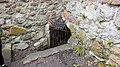 Ardrossan Castle, North Ayrshire. Well passage entrance.jpg