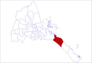 Are'eta Subregion - Image: Are'eta District