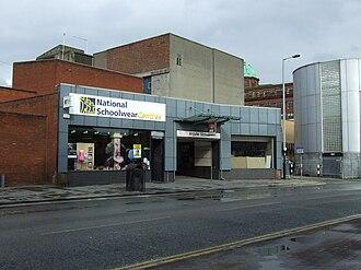 Argyle Street railway station - Image: Argyle rear
