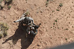 Arizona air ambulance hoists Special Forces from Meteor Crater 051514-A-kv675-0384.jpg