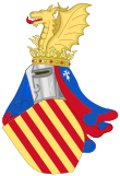 Arms of Aragonese Monarchs (13th-15 centuries).svg