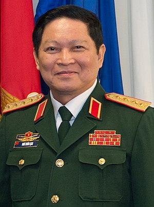 Ngô Xuân Lịch - Image: Army (VPA) General Ngo Xuan Lich Đại tướng Ngô Xuân Lịch (DOD photo 170808 D GY869 123 SD meets with Vietnam's defense minister)