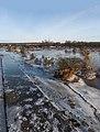 Arnhem-Meinerswijk, de zuidelijke plas met hoogwater en ijs IMG 8148 2021-02-14 08.49.jpg