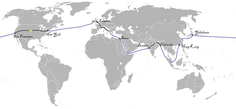Bản đồ của cuộc hành trình