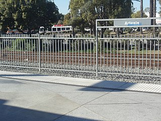 Artesia station Los Angeles Metro Rail station