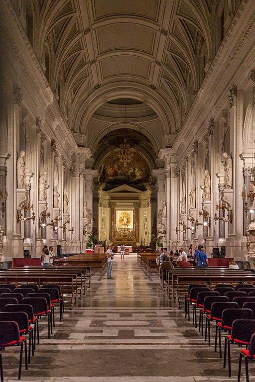 Nave de la cathédrale de Palerme - Photo de Matthias Süßen