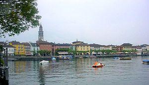 Deutsch: Ascona Seepromenade Piazza G. Motta