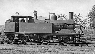 Midland Railway 1252 Class - Image: Ashchurch 19 railway station geograph 2221418
