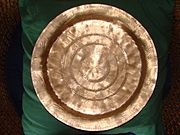 A beautifully made traditional brass dish from Assam
