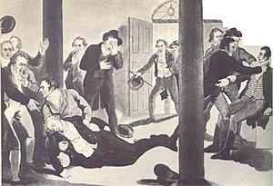 The assassination of Prime Minister Spencer Pe...