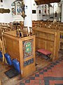 Assistant priest's seat within St Nicholas, Guildford - geograph.org.uk - 1629683.jpg
