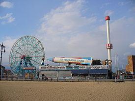 Brooklyn Movie Coney Island Scene