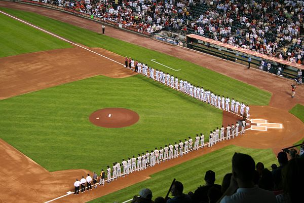 Opening Day introductions at Minute Maid Park on April 2, 2007 Astros.opening.day.2007.intros.jpg