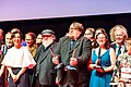 At the stage at the Hugo Award Ceremony, at Worldcon 75 in Helsinki 2017.jpg 22.jpg