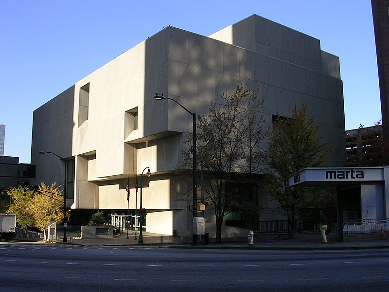 Atlanta Fulton Public Library With Meeting Rooms