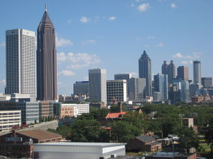 Downtown Atlanta - Part of the Downtown Atlanta skyline