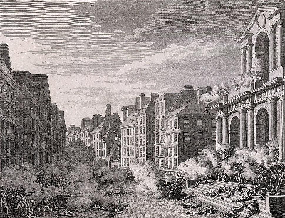 Attaque de la Convention nationale, 1795