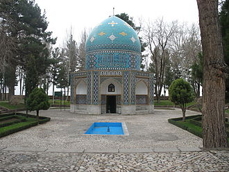 Mausoleum of Attar Neyshaburi - Mausoleum of Attar in Nishapur
