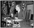 Attorney General. Washington, D.C., Ja. 6. A new informal photograph of Attorney General Frank Murphy made in his office today, 1-6-39 LCCN2016874709.jpg