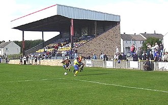 Auchinleck Talbot F.C. - Matchday action at Beechwood Park