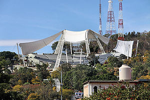 The new Auditorio Guelaguetza in Oaxaca, OAX, ...