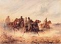 August von Pettenkofen - Reiterszene aus dem ungarischen Feldzug - 1851.jpeg