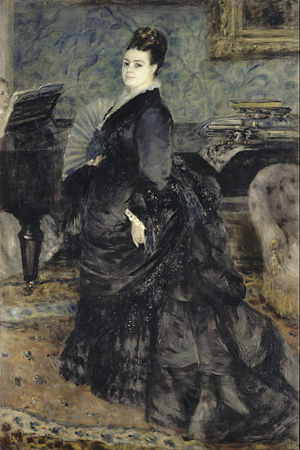 Executor - Auguste Renoir, Portrait of a Woman, called of Mme Georges Hartmann, gift from General Bourjat, executor of Georges Hartmann (Musée d'Orsay)