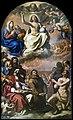 Augustins - La Gloire de tous les saints. Les saints protecteurs de la ville de Modène - Guercino.jpg