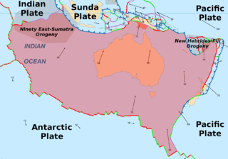 Australian Plate A major tectonic plate, originally a part of the ancient continent of Gondwana
