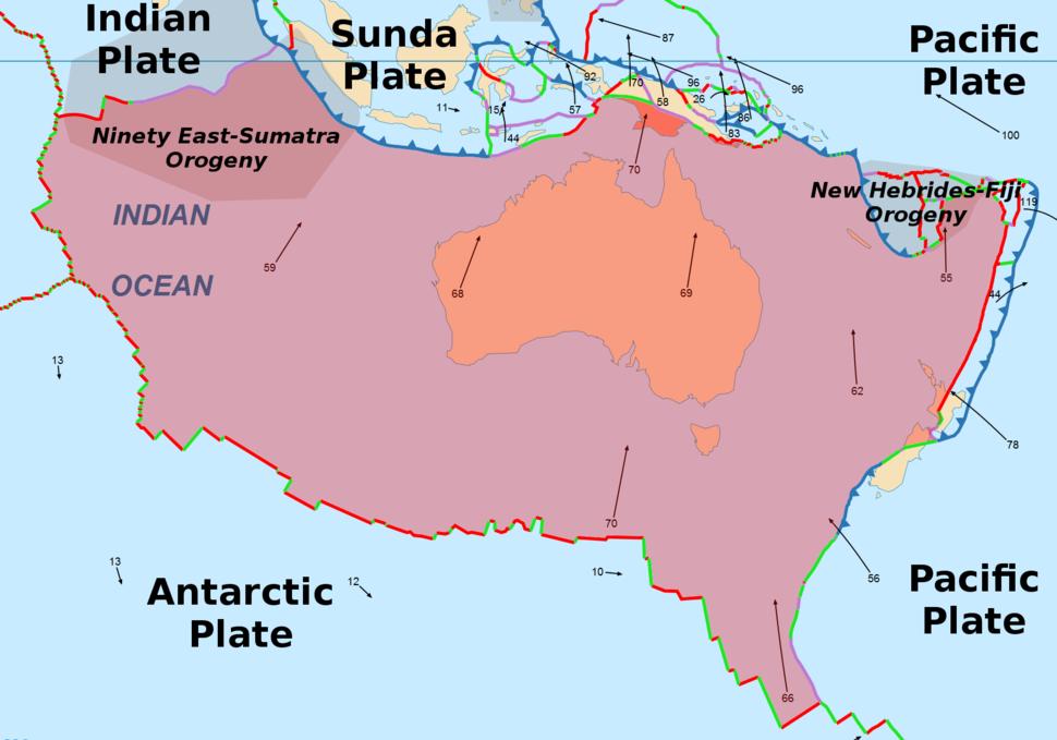 The Australian Plate