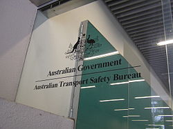 Australian Transport Safety Bureau window logo