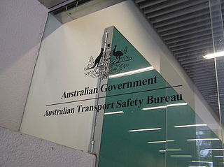 Australian Transport Safety Bureau national transport safety investigator in Australia