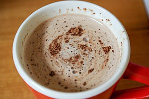 Milo (drink) - A cup of hot Milo