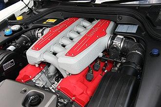 Ferrari 599 - Ferrari F140 C V12 engine
