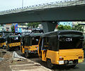 Auto rickshaws at APSRTC Complex in Vizag.jpg