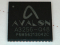 Avalon ASIC A3256 chip.png