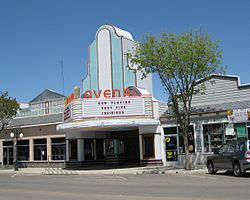 The Avenal Theater in 2011