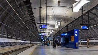Aviapolis railway station