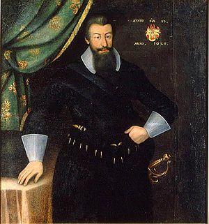 Jacob Heinrich Elbfas - Portrait of Axel Oxenstierna, 1626