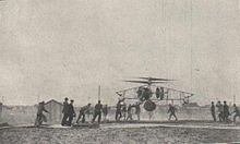 Uno dei primi voli del PKZ 2