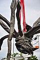 Bürkliplatz - Demontage 'Maman' 2011-07-28 20-13-28.jpg