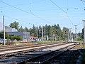 Bürmoos - Ort - Bahnhof Bürmoos Anlage - 2010 08 26 - Gleisanlage.jpg
