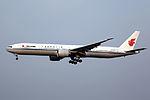 B-2086 - Air China - Boeing 777-39L(ER) - PEK (14562616418).jpg