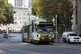 Melbourne tram route 55 former tram route in metropolitan Melbourne, Victoria, Australia