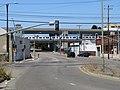 BART train crossing Adeline Street, July 2020.JPG