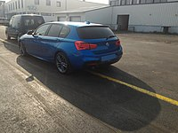 BMW 1 Series 118d (F20) with M Sport pack (1) - 2015 facelift.jpg
