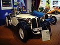 BMW 319-1 and Bugatti Roadster at Boxenstop Car & Toy Museum.jpg