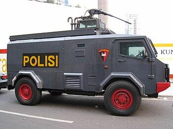 English: BRIMOB vehicle