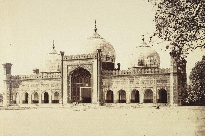 Badshahi Mosque taken by Unknown Photographer in 1870